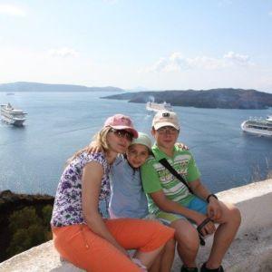 Plavby na moři s RIVIERA TOUR-Santorini