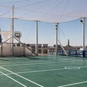 MSC SINFONIA  tenisový kurt