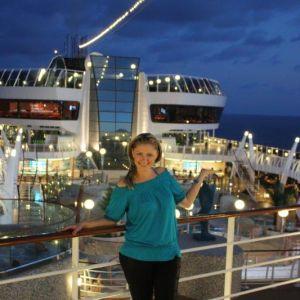 Monika Žídková-MISS TISÍCILETÍ na plavbách s RIVIERA TOUR