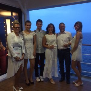 CK RIVIERA TOUR na plavbě 720  do Ruska
