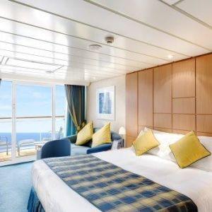 Kajuty na lodích MSC-plavby s RIVIERA TOUR