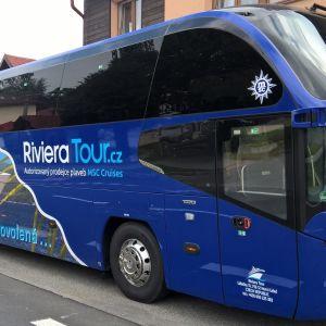 AUTOBUSOVÁ PŘEPRAVA NA PLAVBY S MSC CRUISES DO PŘÍSTAVU S RIVIERA TOUR