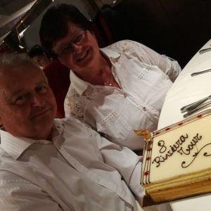 Již 8 let jezdí manželé Urbanovi na plavbách s RIVIERA TOUR