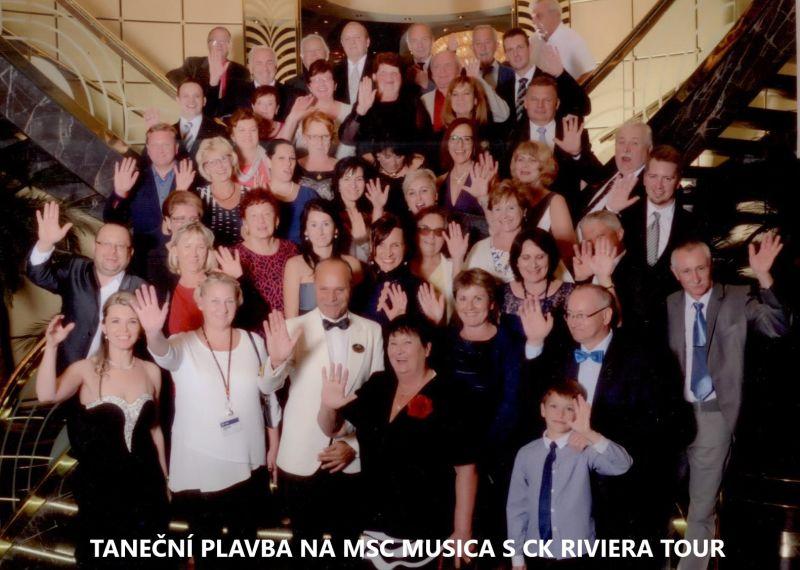 Taneční plavba MSC MUSICA s RIVIERA TOUR