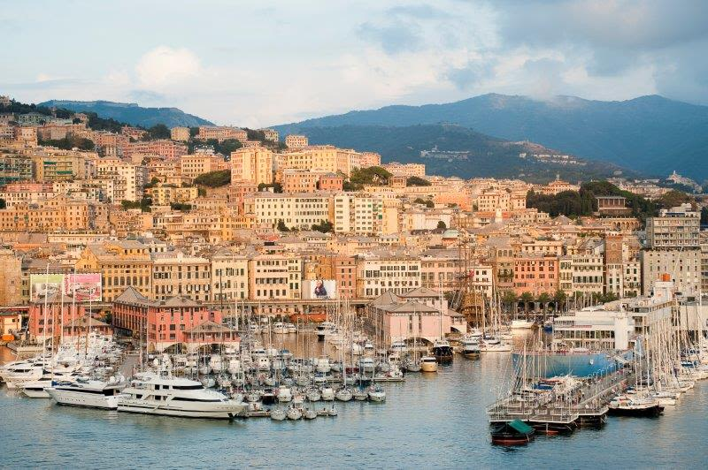 Genoa na plavbách s RIVIERA TOUR