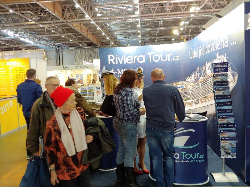GO Brno - zájem o plavby MSC s RIVIERA TOUR je značný